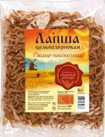 Лапша ржано-пшеничная цельнозерновая . Дивинка. 350гр.