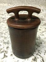 Глиняная ёмкость с крышкой. 0,8 литра